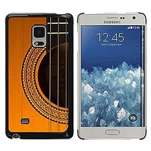 Be Good Phone Accessory // Dura Cáscara cubierta Protectora Caso Carcasa Funda de Protección para Samsung Galaxy Mega 5.8 9150 9152 // Guitar Classical Strings Instrument Music