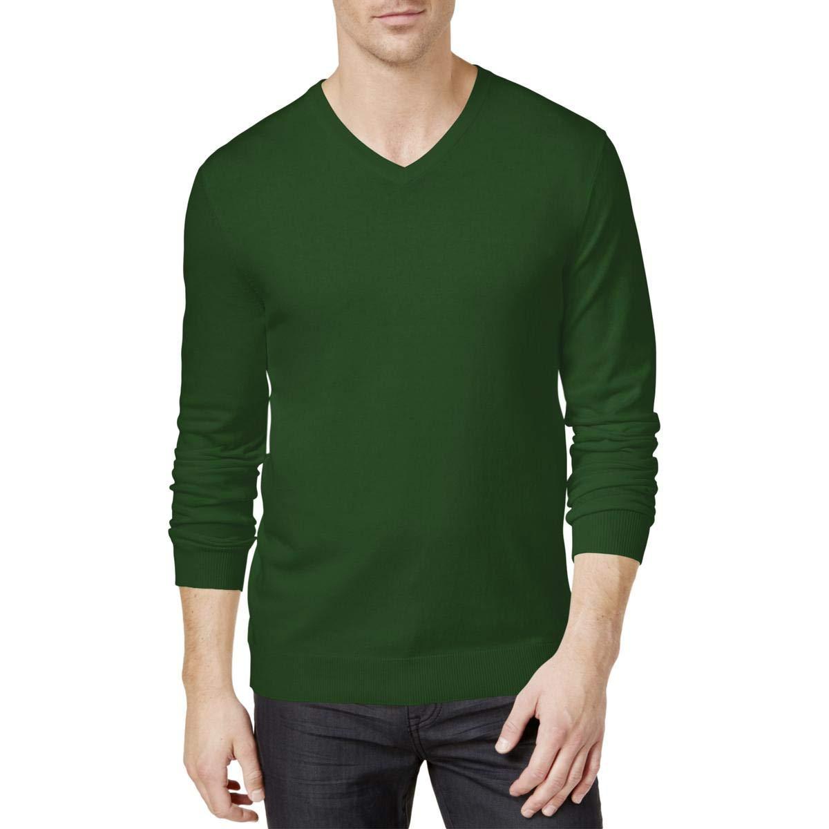 Alfani Mens Knit Long Sleeves Pullover Sweater