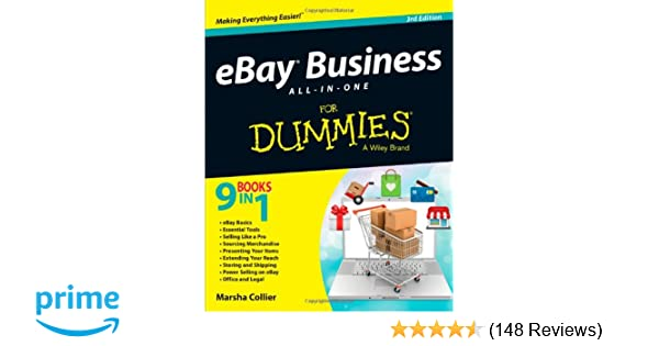 Ebay business all in one for dummies marsha collier 0884441574296 ebay business all in one for dummies marsha collier 0884441574296 amazon books reheart Gallery