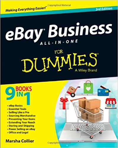 Ebay Business All In One For Dummies Collier Marsha 0884441574296 Amazon Com Books