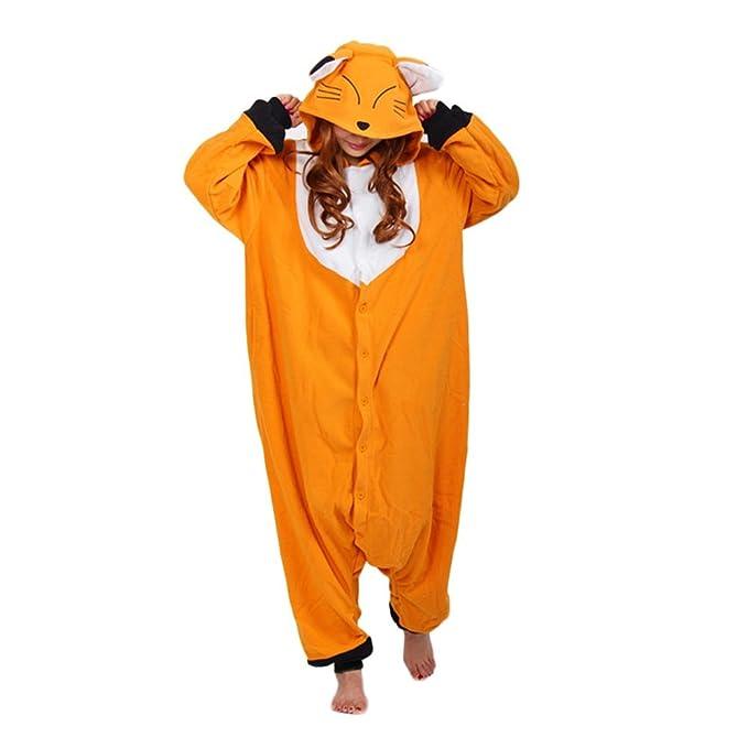 1b69b20d7 Amazon.com  Tri-Better Fox Onesie Pajamas Hooded Kigurumi Unisex ...