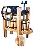 Double Tub Cider Press & Motorized Grinder Complete Kit