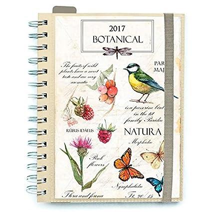 Varios Agenda 2017 Botanical Banda Elastica: Amazon.es ...