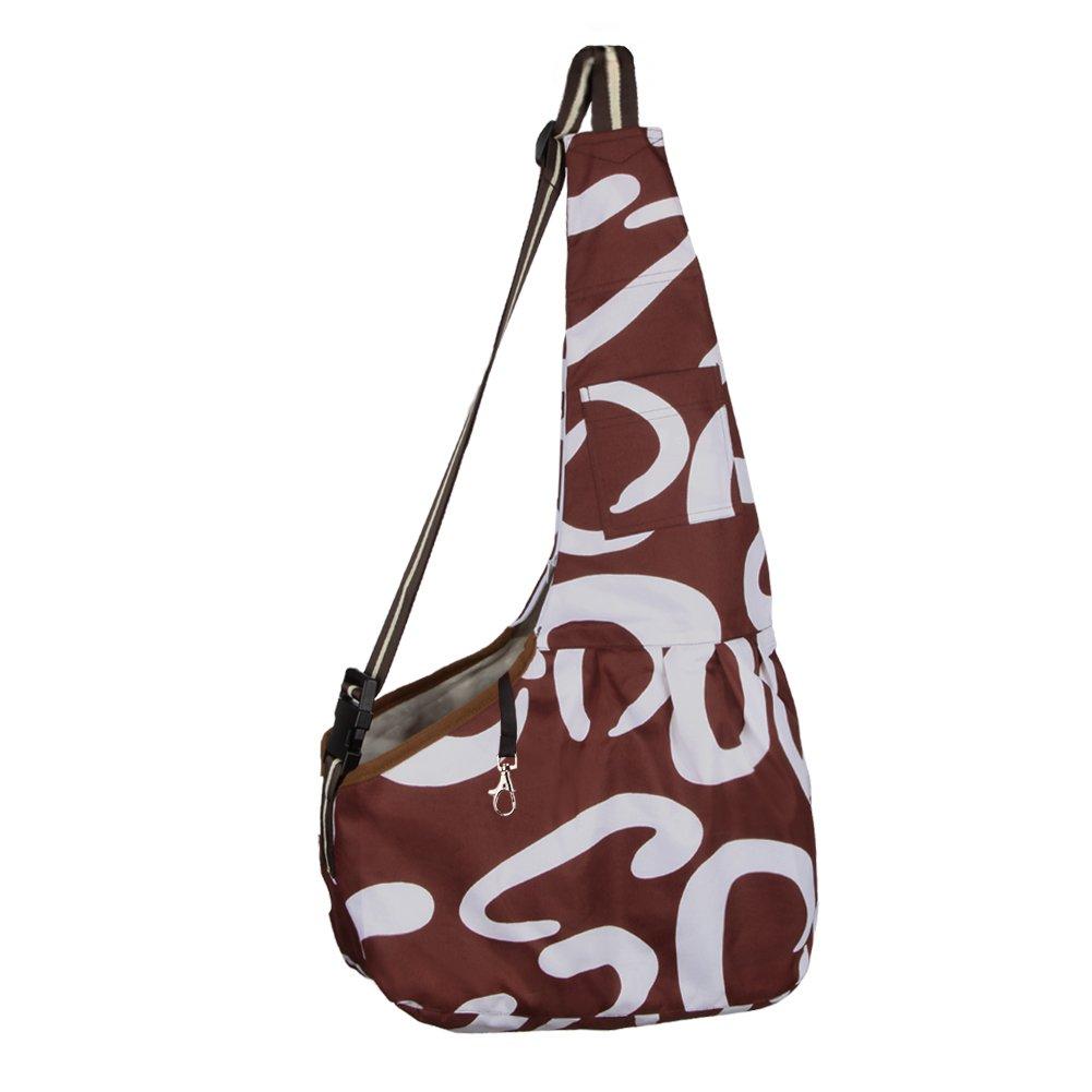 Funkeen Dog Cat Sling Carrier pouch Bag Handbag for Small medium Pet