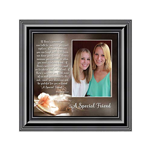 A Special Friend, Birthday Gift Best Friend, Personalized Picture Frame Your Forever Best Friend, 10x10 6375B