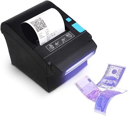 Detector de Dinero] 300 mm/Sec Impresora de Tickets térmicos de 80 ...