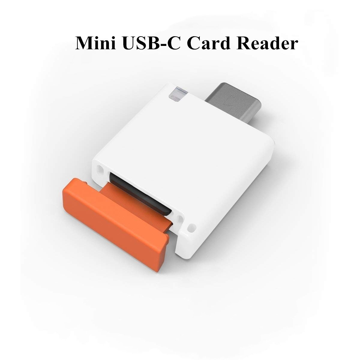 COOSA USB Type-C Reader 3.0 High Speed Hot Plugging Micro SD Card (bianco)