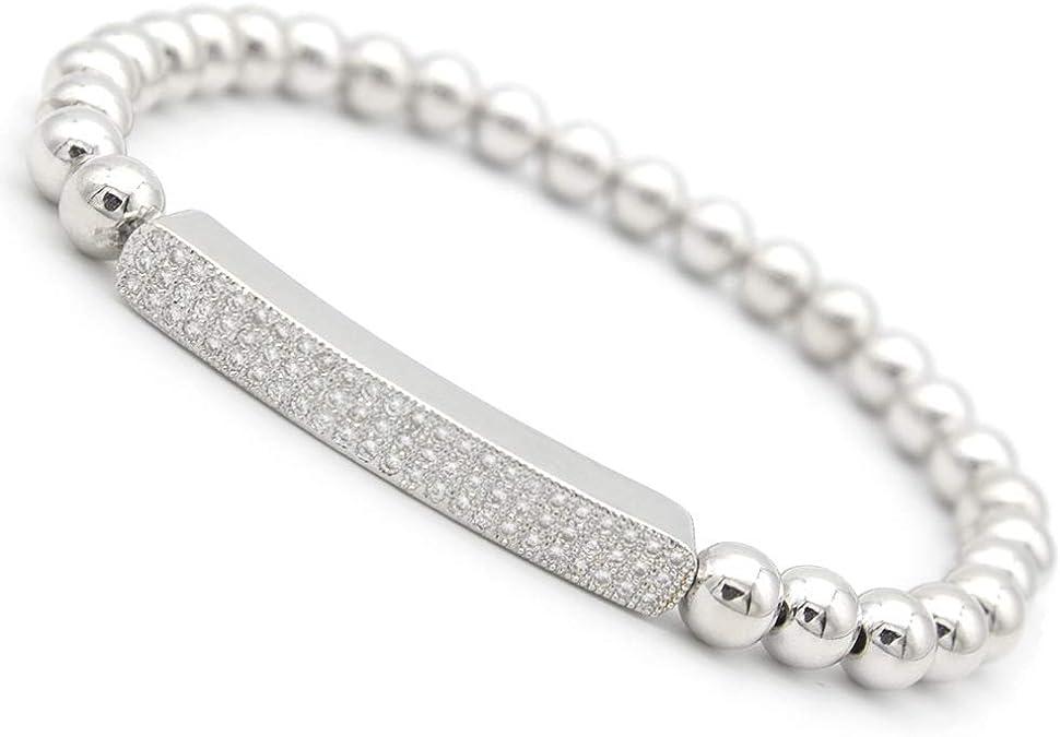 AZYZ316-5477 Fashion Round Brass Micro Pave Cubic Zirconia CZ Charm Metal Beads DIY Jewelry Bracelet Disco Ball In 10MM 20PCS