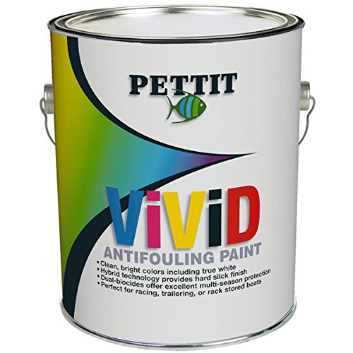 Pettit Paint Vivid, White, Gallon