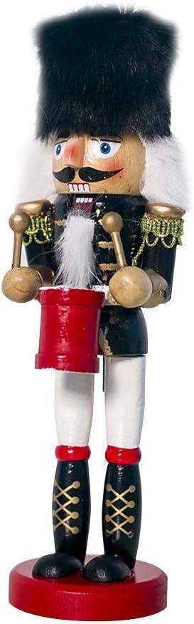 Exuberanter Casse Noisette en Bois 20 cm Soldat Casse-Noisette Noel Casse Noisette en Bois Soldat Figurine Batteur D/écorations Jouet pour Mariage Anniversaire D/écoration pour Enfants//Amis