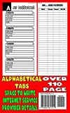 Internet Address And Password Book With