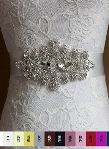 Abito Formale Cinture Di Annie Delle Accessories32 Sposa Nozze Donne Spose Di Fusciacche Cristallo Nero fHcRwq