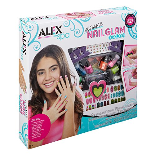 ALEX Spa Ultimate Nail Glam Salon Kit