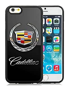 Newest iPhone 6/6S TPU Screen Case ,Unique And Fashionable Designed Case With Cadillac Car Logo Black iPhone 6/6S 4.7 Inch TPU Phone Case