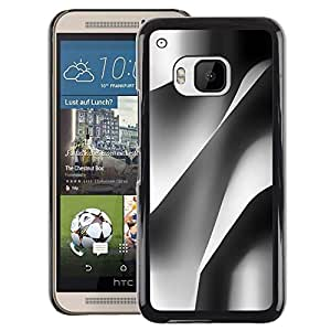 A-type Arte & diseño plástico duro Fundas Cover Cubre Hard Case Cover para HTC One M9 (Building Architecture Paper Engineering)