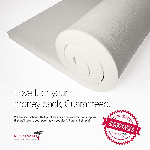 Full Size 2 Inch Thick, Ultra Premium Visco Elastic Memory Foam Mattress...