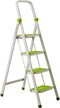 Multifuncional Escalera de cuatro peldaños, escalera antideslizante Escalera de metal para exterior Sala de estar Dormitorio Cocina Escalera Tamaño 47 * 76 * 137 CM estable (Tamaño : 47 * 76 * 137CM): Amazon.es: Bricolaje y herramientas