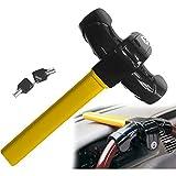 Sino Banyan Steering Wheel Lock,Drilling Twist & Picking Resistant,2 Key