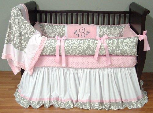 Trend Lab Sea Foam 3 Piece Crib Bedding Set Sage 101671