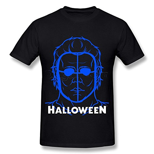 Halloween How To Draw Michael Myers Men's T Shirt -
