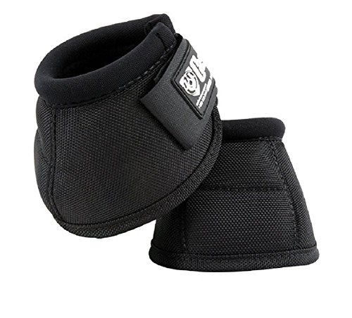 - Cashel No Turn Bell Boots for Horses, Equine - Pair, XX-Small X-Small, Small, Mini, Medium, Large or X-Large Color: Black or Hot Leaf