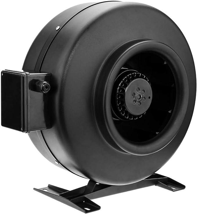 PrimeMatik - Ventilador de Tubo de 200 mm. Extractor de conducto en línea para la ventilación Industrial: Amazon.es: Electrónica