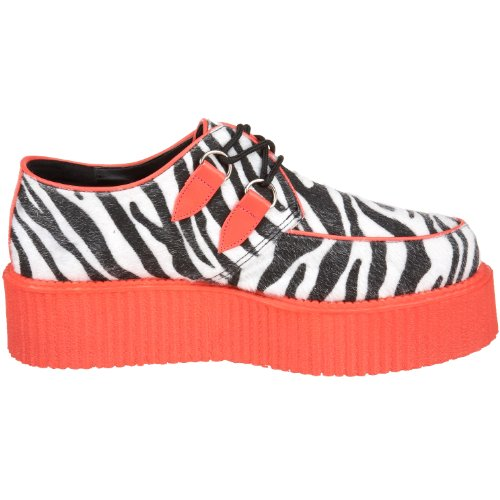 V Chaussures Gothique Industrielle 507uv Demonia Punk 3 13 creeper Rampantes 5 Uv reaktive dwfX4fq