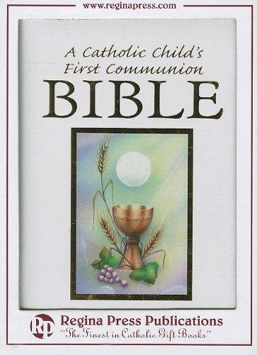 (Catholic Childs 1st Communion Bible-NRSV)