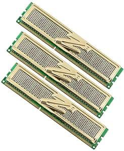 OCZ OCZ3G1600LV6GK DDR3 PC3-12800 1600 MHz Gold XTC 6GB Triple Channel Kits