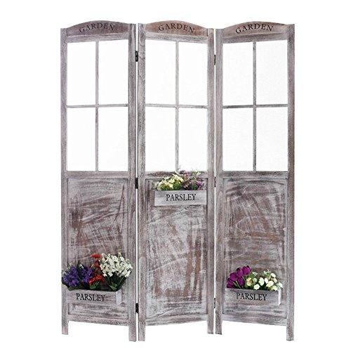 Screen Gems Flower Pot Garden Room Divider, Large