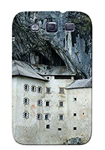 Fashion AsEKbYe5355BMZFt ForFor Case Ipod Touch 5 Cover(rock Face Castle)