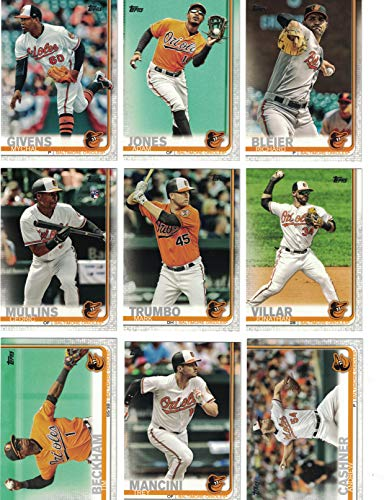 Baltimore Orioles/Complete 2019 Topps Series 1 Baseball Team Set! (12 Cards) Includes 25 bonus Orioles Cards!