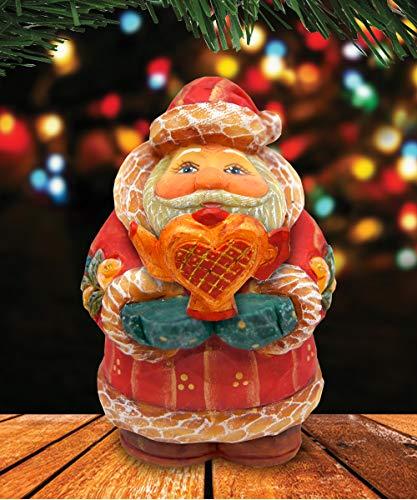 """G. Debrekht Santa Growing Love, 4"""""""