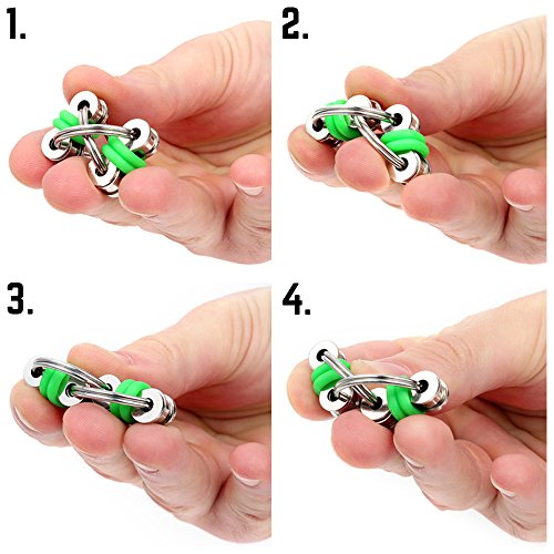 Sensory Toys For Adults : Fidget toys for sensory kids flippy chain toy