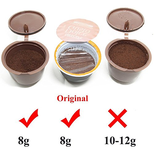 recaps refillable dolce gusto coffee capsules refilling more import it all. Black Bedroom Furniture Sets. Home Design Ideas