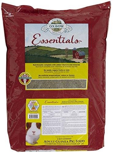 Oxbow Guinea Pig - Oxbow Animal Health Cavy Cuisine Essentials Adult Guinea Pig Food, 25-Pound