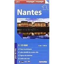 NANTES  1/15.000 (PAPIER)