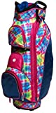Glove It Women's Electric Plaid Golf Bag Multi