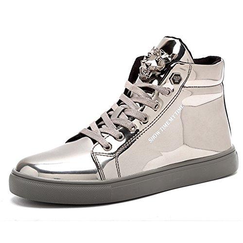 IGxx Men's Sneakers Punk Ankle Boots for Men