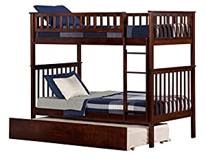 Atlantic Furniture Woodland Bunk Bed with UTDL