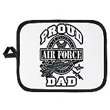 Potholder Pot Holder Proud Air Force Dad Jets