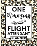 One Amazing Flight Attendant: Undated Planner For