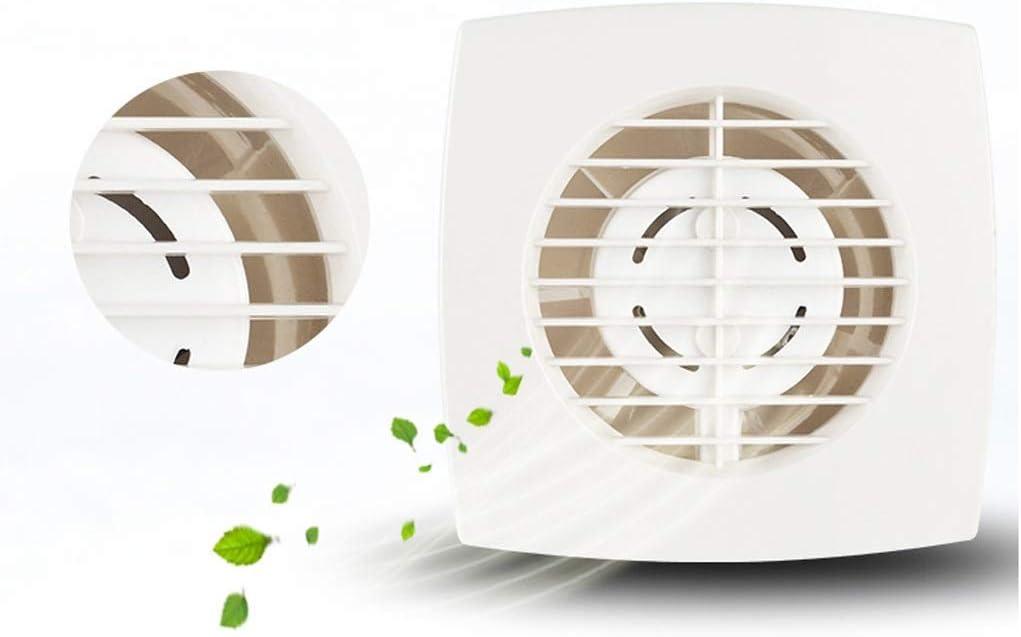Ventilador extractor de baño, ventilador de cocina ultra fino, ventilador ventilador de 10 pulgadas, cuarto de baño, sala de estar, dormitorio, ventana de pared