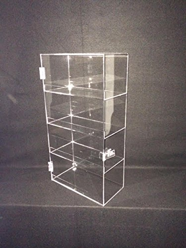 Display Case with Locking Door and Shelves (Retail Acrylic Display Case compare prices)