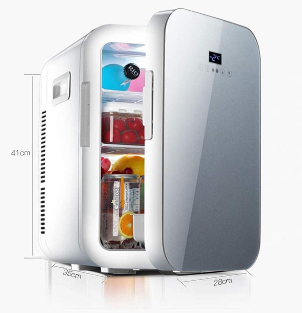 BYNNCR Mini Nevera, Refrigerador Portátil, Congelador De Doble ...