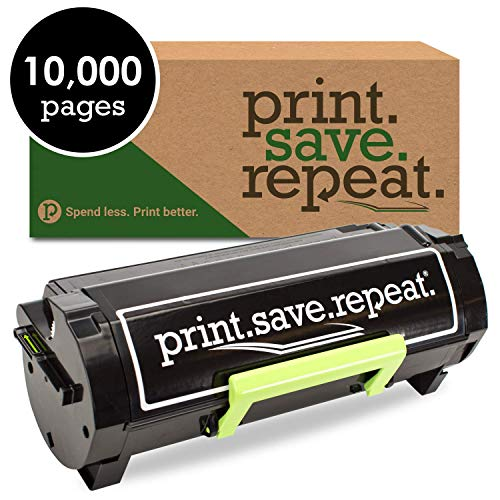 - Print.Save.Repeat. Lexmark 501X Extra High Yield Remanufactured Toner Cartridge for MS410, MS415, MS510, MS610 [10,000 Pages]
