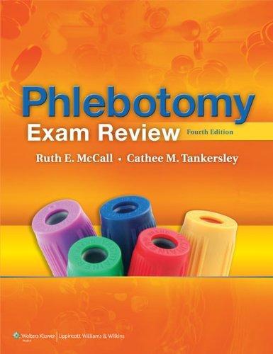 By Ruth E. McCall - Phlebotomy Exam Review (4th Revised edition) (1.2.2011) pdf epub