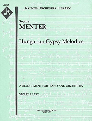 - Hungarian Gypsy Melodies (Arrangement for piano and orchestra): Violin I part (Qty 2) [A5450]
