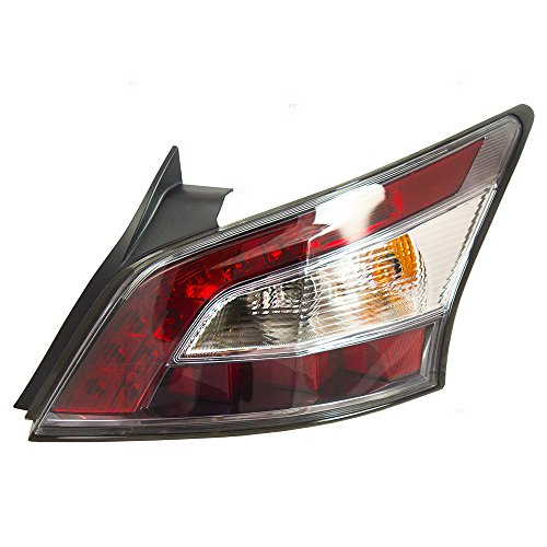 Taillight Tail Lamp Passenger Replacement for 12-14 Nissan Maxima 26550-9DA0B -