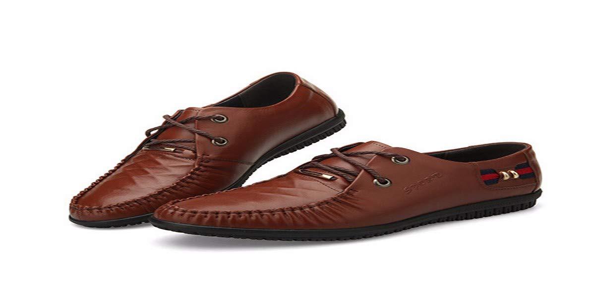 KMJBS KMJBS KMJBS Calzado de Hombre/Zapatos De Hombre De Cuero Zapatos De Cuero Tie Negro Treinta Y Ocho 85d820